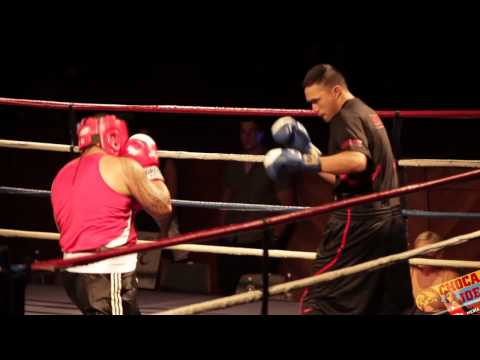 NZ Police Charity Boxing Fight for Cancer