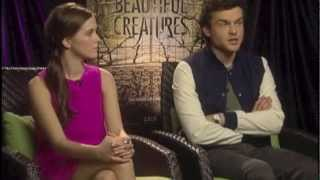 The Cast of  Beautiful Creatures Talks About The New Film