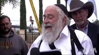 犹太教堂拉比回忆击事故现场