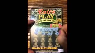 EXTRA PLAY NY lottery New scratch off ticket #2