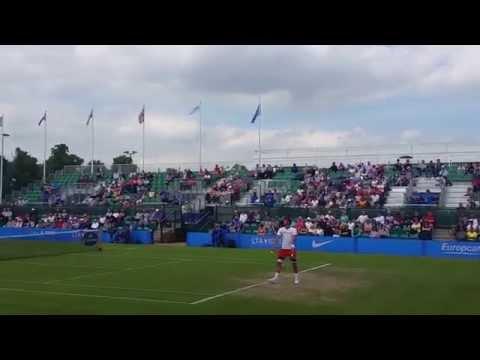 Feliciano Lopez (v Taylor Fritz) Aegon Open 2015 Nottingham