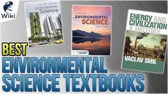 10 Best Environmental Science Textbooks 2018
