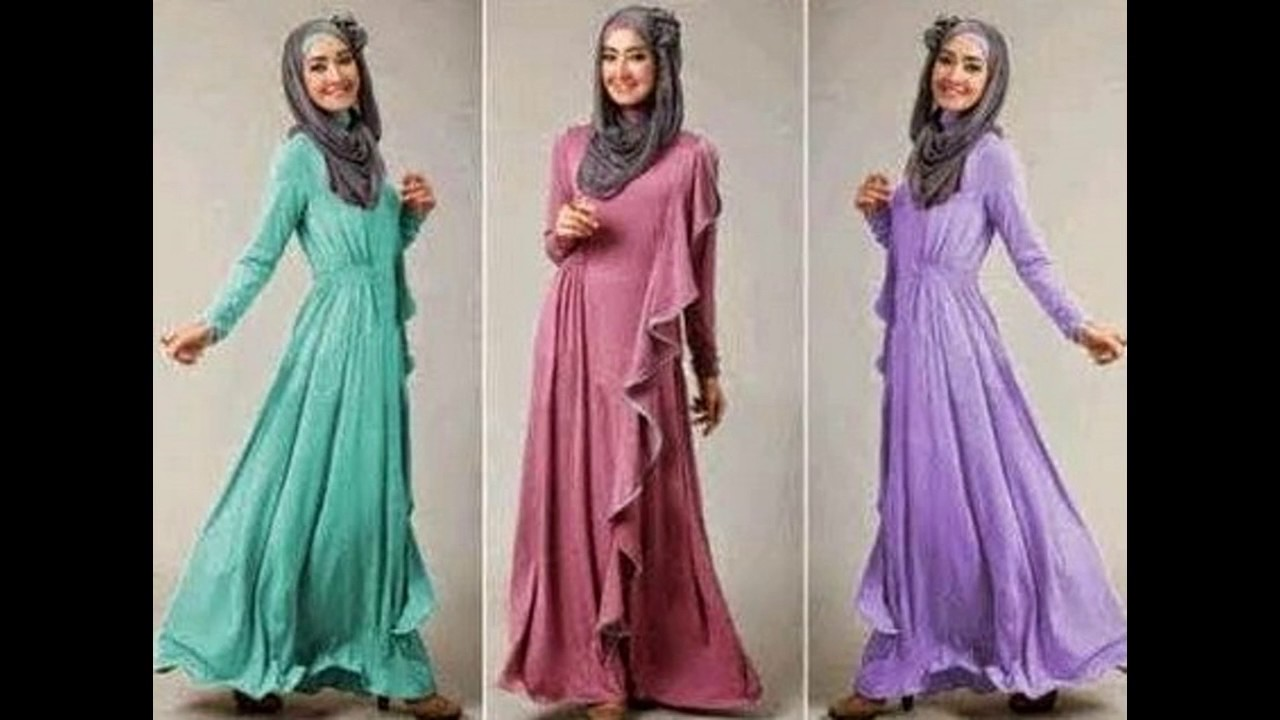 Model Baju Muslim Orang Hamil Terbaru