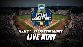 2016 Women's College World Series Finals - Game 1 Postgame Press Conference