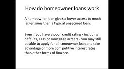A Guide to Homeowner Loans