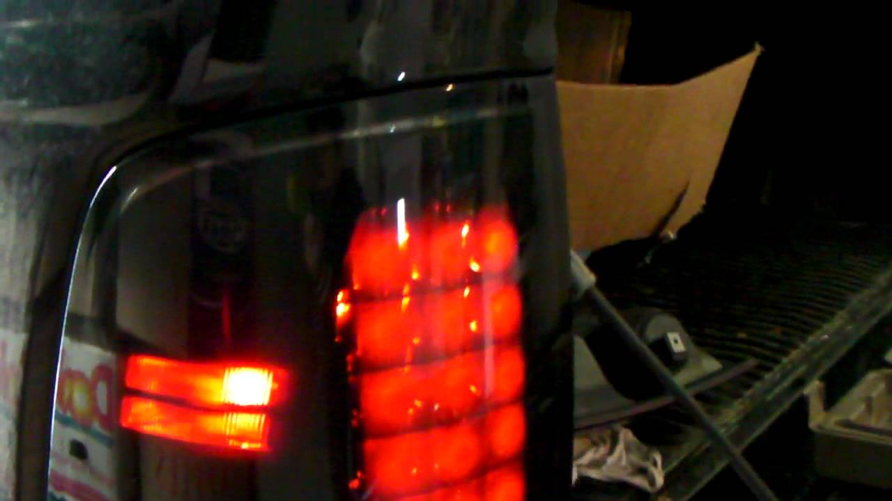 Go Recon Tail Lights Before And After On Dodge Ram 4th Gen