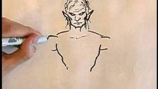 How to Draw Angels & Demons : Drawing a Demon Body
