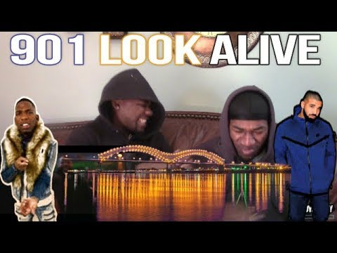 "BlocBoy JB & Drake ""Look Alive"" (Official Video)(Reaction)"
