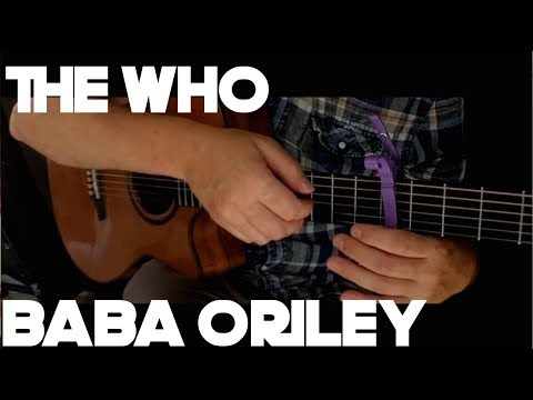 The Who - Baba O'Riley - Fingerstyle Guitar