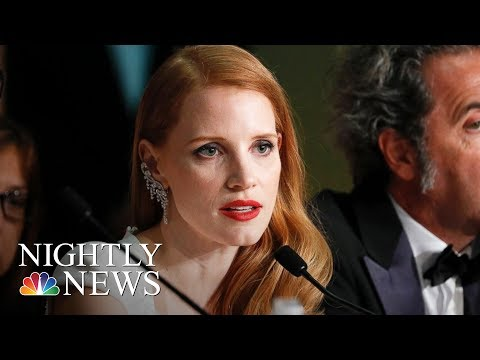 Jessica Chastain Speaks Out Against 'Disturbing' Portrayal Of Women In Movies | NBC Nightly News