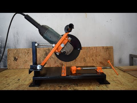 Making Angle stand For Grinder DIY