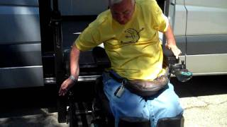 Sprinter Van Custom Wheelchair Conversion