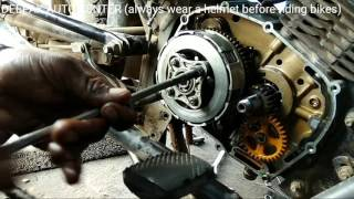 how to replace TVS SPORT CLUTCH PLATE