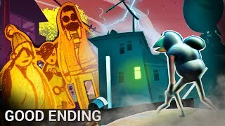 Unlocking the GOOD Ending! (Hello Neighbor 2 Alpha - True Ending)