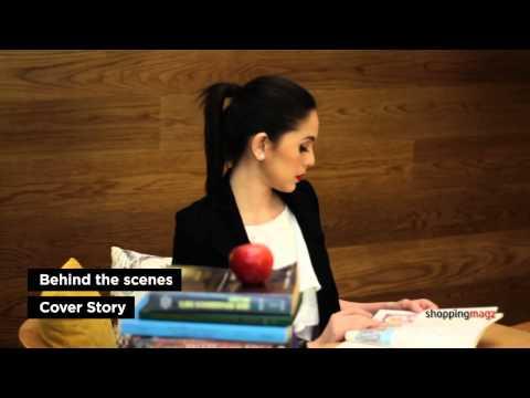 Cover Story of Nycta Gina for ShoppingMagz at La Moda