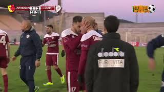 Cotronei Locri 1 2 il racconto della finale di Coppa Italia 2017 2018