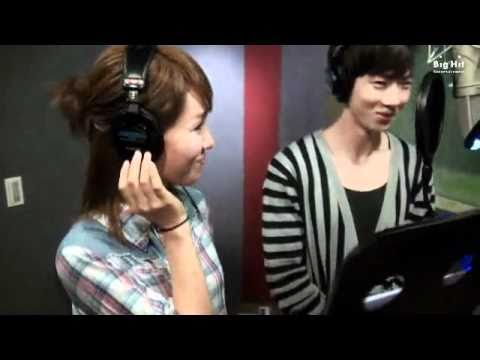 Lim Jeong Hee - On The Road To Breaking Up feat. JoKwon Recording Session MV[Subbed Caption]