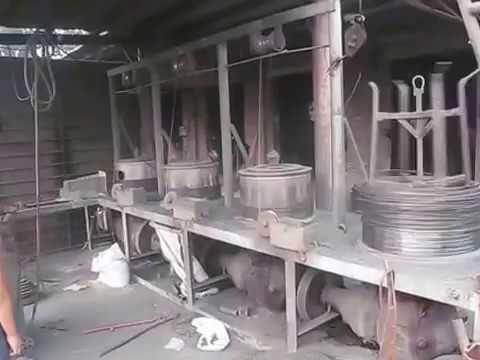 видео: Волочение проволоки в Китае.