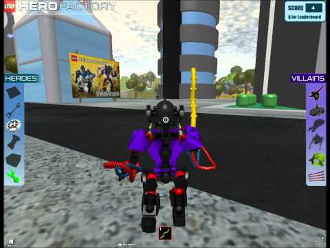 Roblox LEGO Hero Factory: Breakout [Episode 1] Bad Luck Sucks....