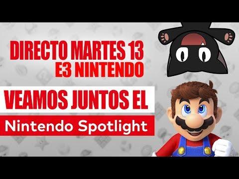 ¡¡Veamos juntos el E3 de Nintendo!! DIRECTO #DSime3