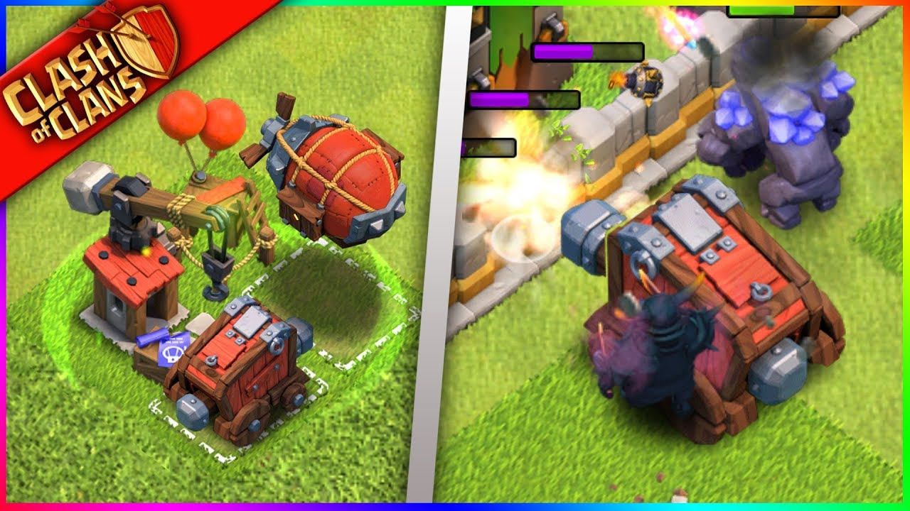 *** WOW, SIEGE MACHINES ARE INSANE! *** NEW Clash of Clans GAMEPLAY!