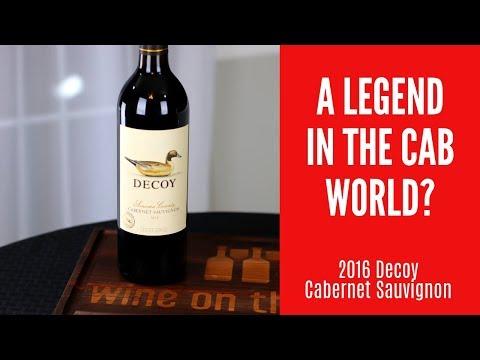 2016 Decoy Cabernet Sauvignon Wine Review