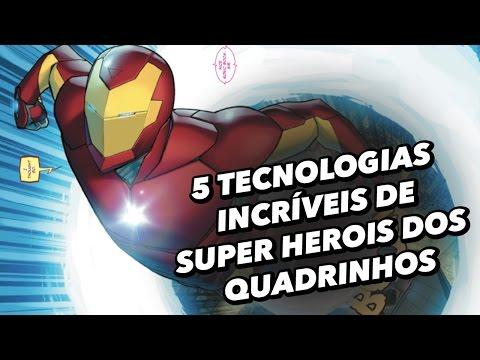 5 Tecnologias Incríveis Utilizadas Por Super-heróis - TecMundo