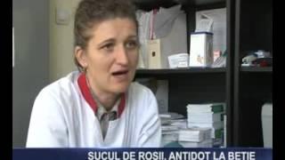 Sucul de rosii, antidot la betie