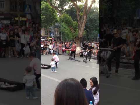 Street Music Hanoi 13th November 2016