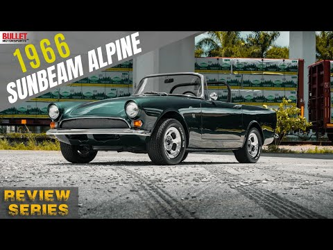1966 Sunbeam Alpine [4k] | REVIEW SERIES