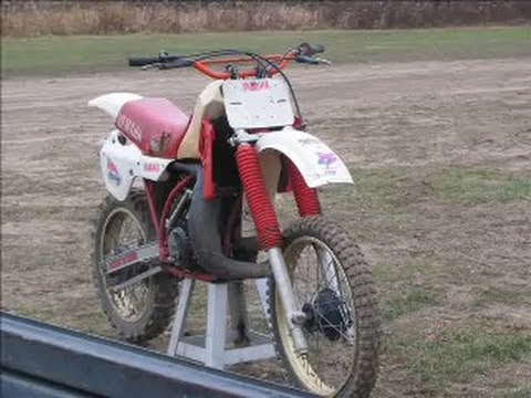 1981 yamaha yz250 for sale restored by east coast vinta for 1979 yamaha yz80 for sale
