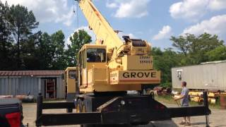 GROVE CRANE TMS 250A 25 TONS PART 3 FOR SALE IN USA CALL +19196019939