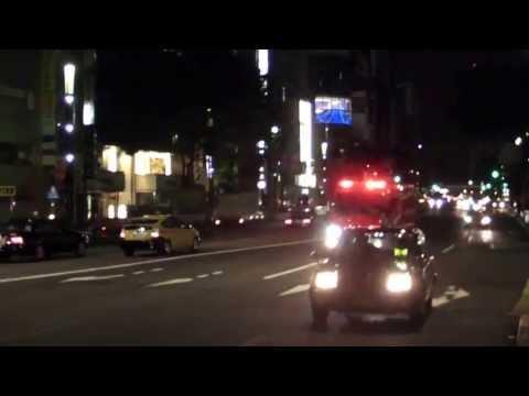 東京消防庁 麹町特別救助隊 緊急走行 Tokyo F.D. rescue truck responding code3