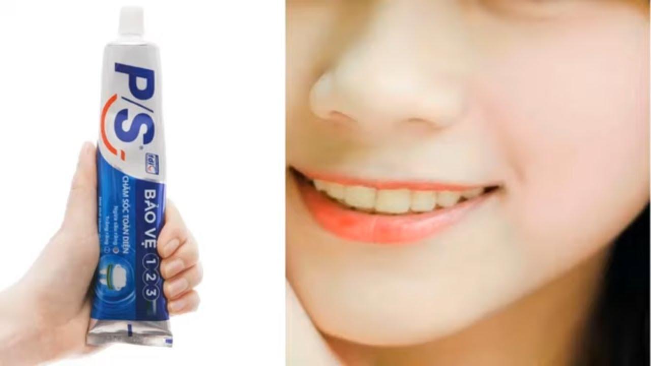 Vẫn là kem đánh răng nhưng làm theo cách này, mọi đốm đen trên mặt đều biến mất, da trắng đẹp