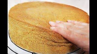 Çok Kolay Sünger PANDİSPANYA TARİFİ - Rekor Biskuit Teig - Pasta Kek i - Gülsümün Sarayi