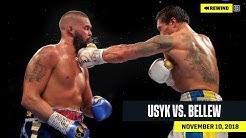 FULL FIGHT   Oleksandr Usyk vs. Tony Bellew (DAZN REWIND)