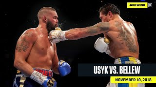 FULL FIGHT | Oleksandr Usyk vs. Tony Bellew (DAZN REWIND)
