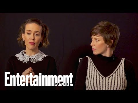 Sarah Paulson, Carrie Coon On Working With Steven Spielberg On 'The Post'  Entertainment Weekly