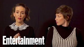 Sarah Paulson, Carrie Coon On Working With Steven Spielberg On 'The Post' | Entertainment Weekly