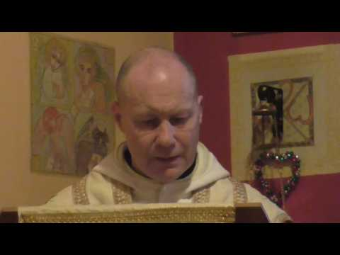 Fr. David Jones - Offeren Gwyl Ddewi (St. David's Mass at Hermitage)