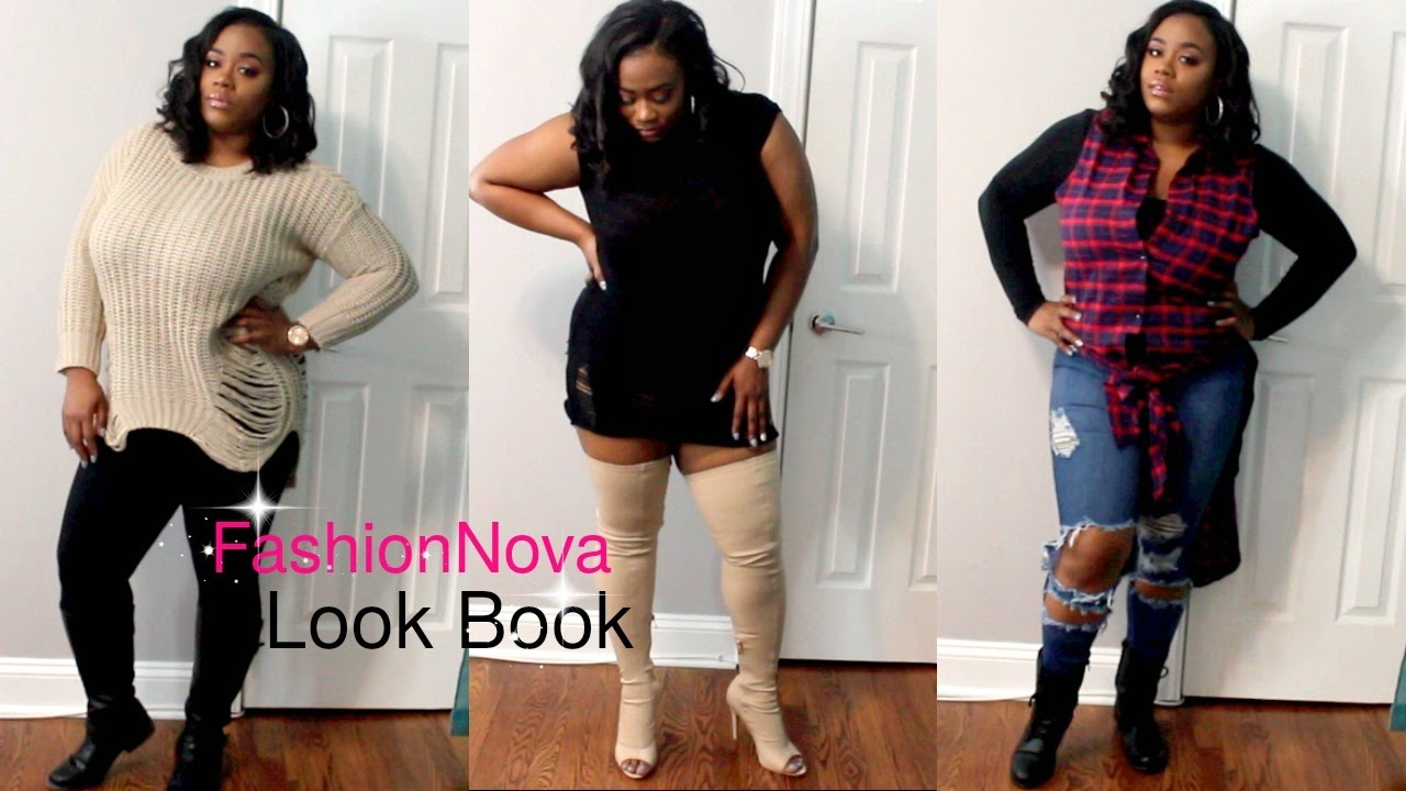 fashion nova lookbook: plus size edition - youtube