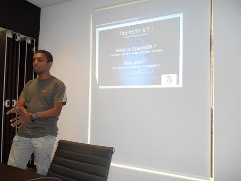 Linux User Group of Mauritius // OpenSSH 6.5 Presentation Part I