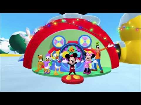 Mickey Mouse Clubhouse | Hot Dog Christmas Dance | Disney Junior UK