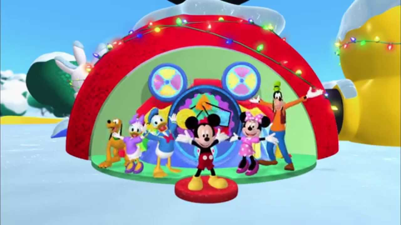 Mickey Mouse Clubhouse | Hot Dog Christmas Dance | Disney Junior UK    YouTube