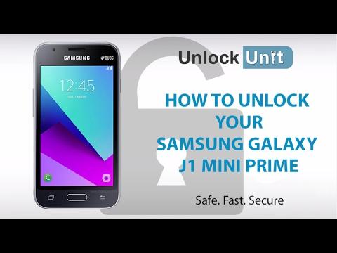 How to Unlock Samsung Galaxy J1 mini prime using Unlock Codes