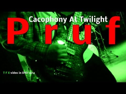 """Pruf """"Cacophony At Twilight""""  (T F X Video)"""