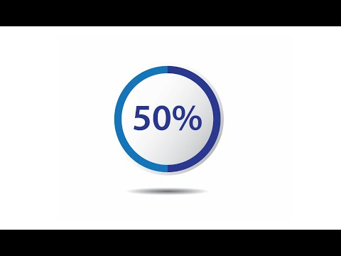Illustrator Infographics Tutorial | How to Make Infographic Percentages Vector