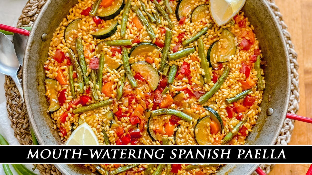 One of the BEST Paellas EVER using Seasonal Summer Produce