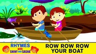 Row Row Row Your Boat   Nursery Rhymes   Kindergarten Song   Children Rhymes   Koo Koo TV