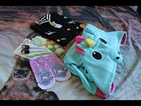Unboxing Cute Japanese Fashion, Unicorn jacket!